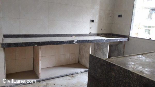 Kitchen Platform Cost Granite And Spotted Marble Civillane