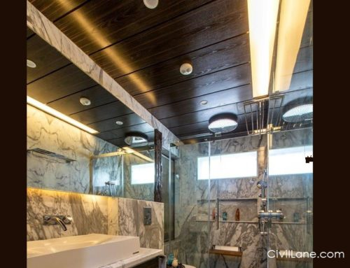 Bathroom False Ceiling – Alternative Materials and Costing
