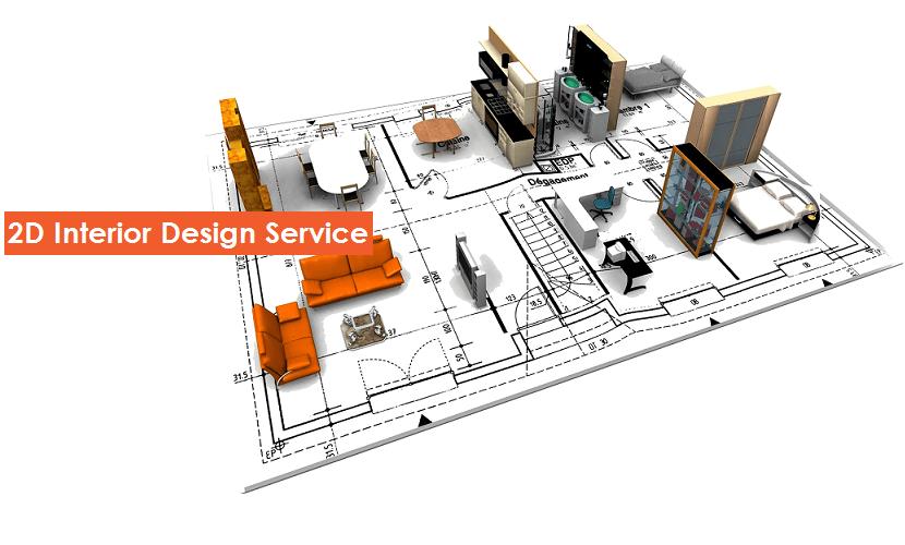 2d Interior Design Service Civillane