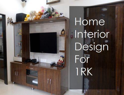 Home Interior Design For 1RK – Byculla, Mumbai