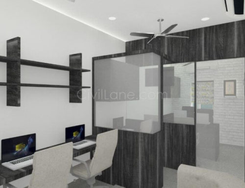 Small Office Space Design, Mumbai – 200 Sq.ft
