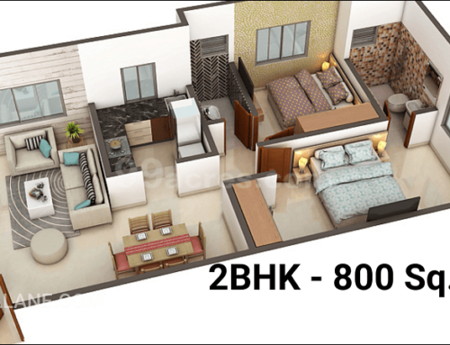 2bhk Home Interior Design Virar Mumbai Civillane